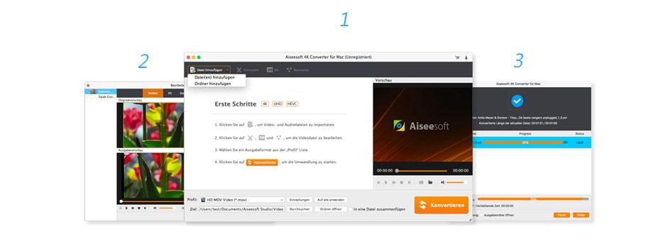 Convertir une vidéo 4K en Mac