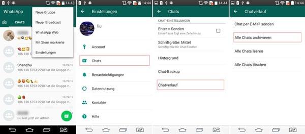 Wie Kann Man Whatsapp Chat Archivieren