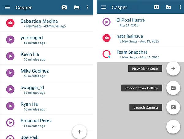 Wie kann man Snapchat Bilder speichern