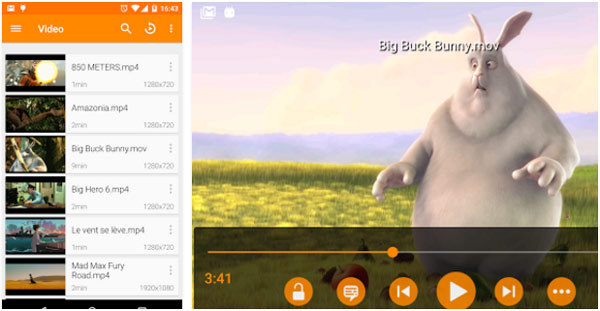 FLAC Player Android - VLC für Android