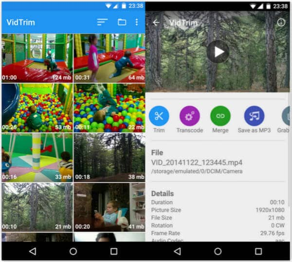 Top 10 Android Video Editor Android Video Bearbeiten
