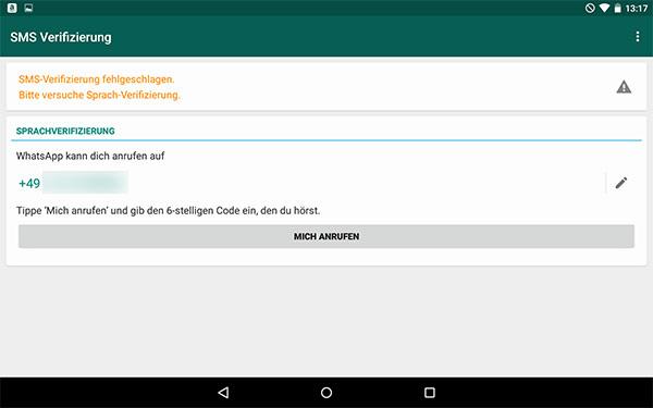 Whatsapp Verifizieren Keine Sms