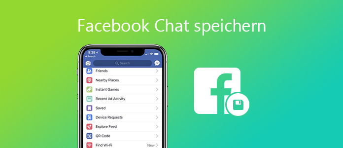 Facebook Messenger Chat speichern
