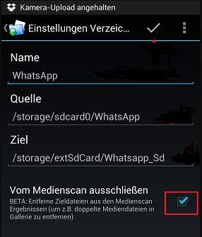 whatsapp daten auf sd karte speichern WhatsApp Daten auf SD Karte speichern   so geht's
