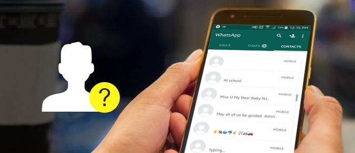 WhatsApp Kontakt wird nicht angezeigt