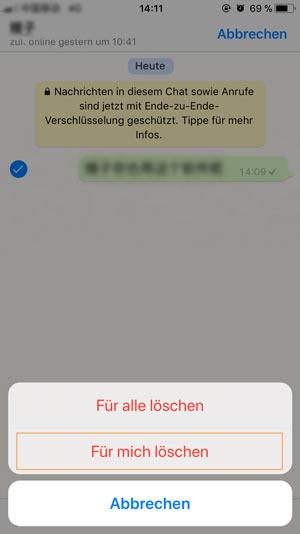 Whatsapp Rundnachricht