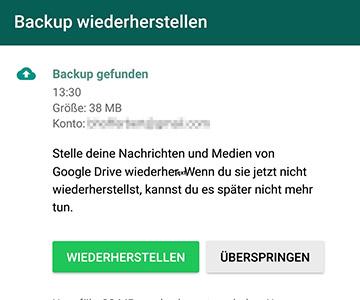 whatsapp auf neues handy installieren