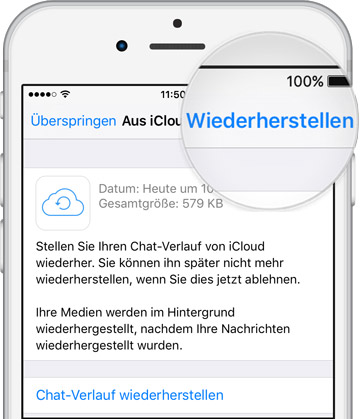 NEUES IPHONE WHATSAPP