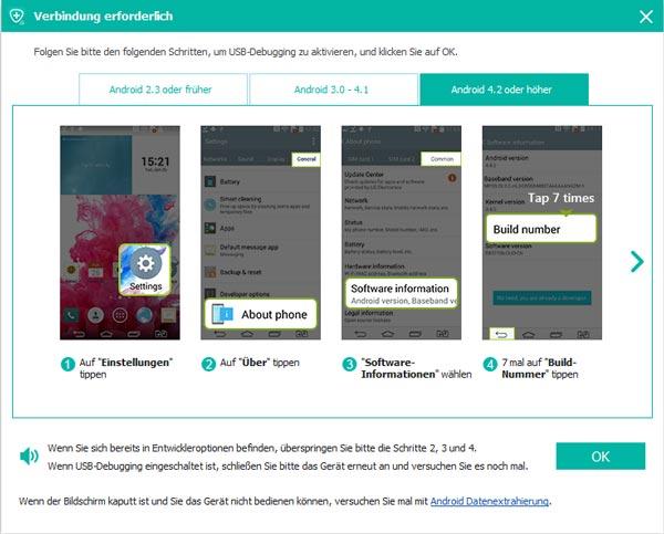 Samsung gelöschte Bilder wiederherstellen - einfach & sicher