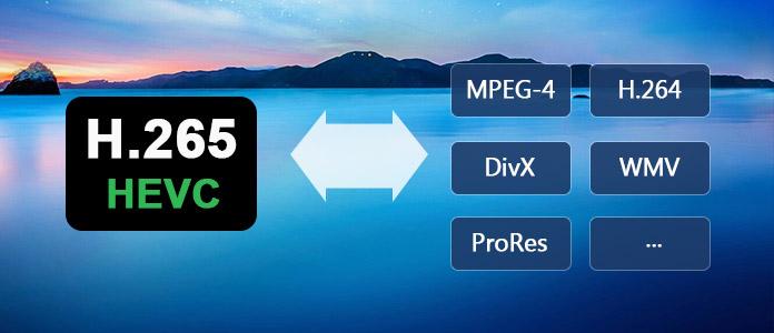 H 265 Converter - Video in HEVC/H 265 umwandeln und umgekehrt