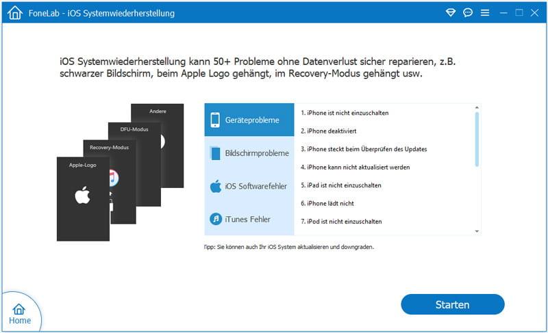 FoneLab - iOS Systemwiederherstellung