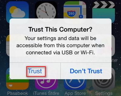 Gerätecode Eingeben Um Diesem Computer Zu Vertrauen