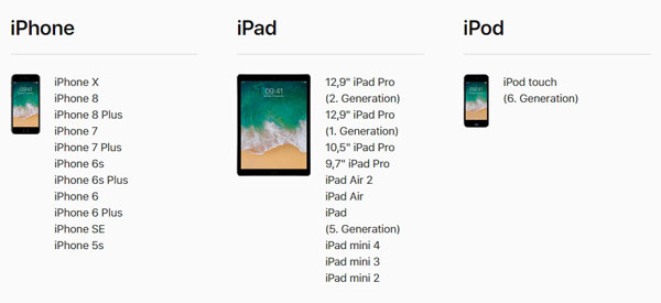 iOS 11 Download für iPhone, iPad und iPod touch