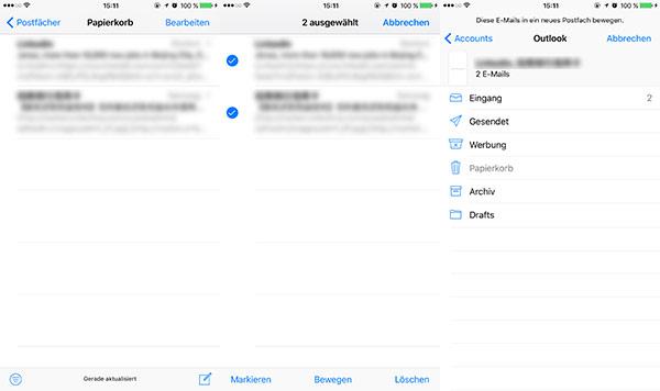 gelöschte mails wiederherstellen iphone