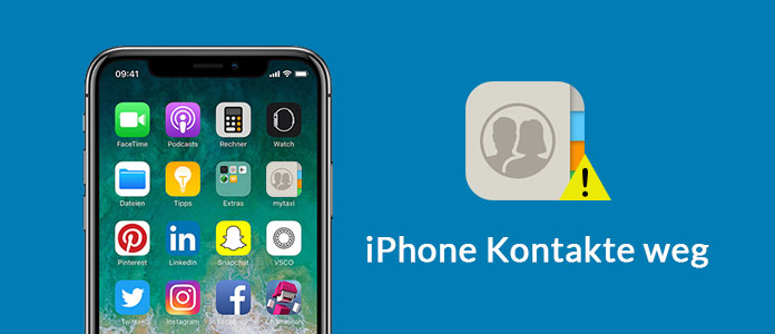 iPhone Kontakte weg