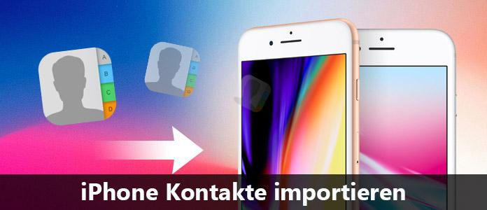 3 Wege Iphone Kontakte Importieren
