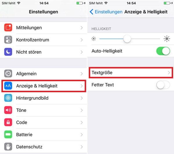 Wie Kann Man Iphone Schriftart ändern