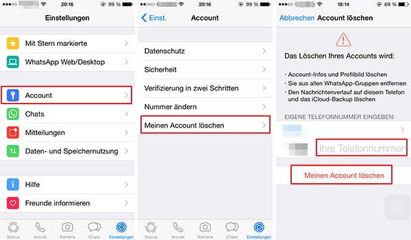 Blockierte sehen whatsapp profilbild kontakte WhatsApp Profilbild