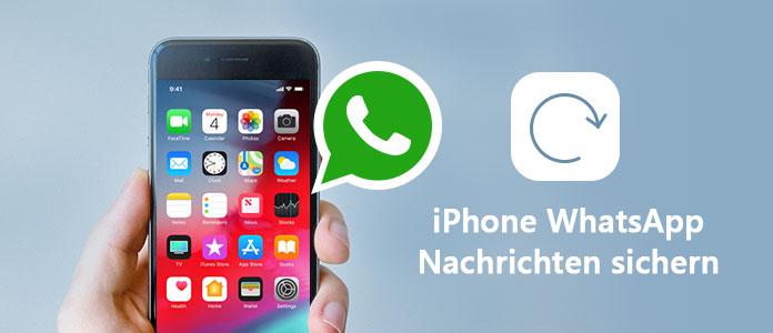 Iphone Whatsapp Nachrichten Speichern Und Auf Neue Handy Laden