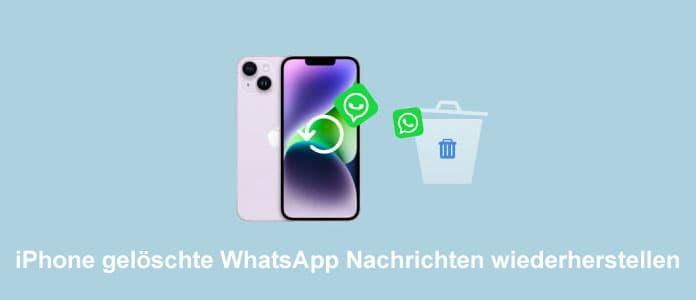 Iphone Geloschte Whatsapp Nachrichten Wiederherstellen So Klappt S
