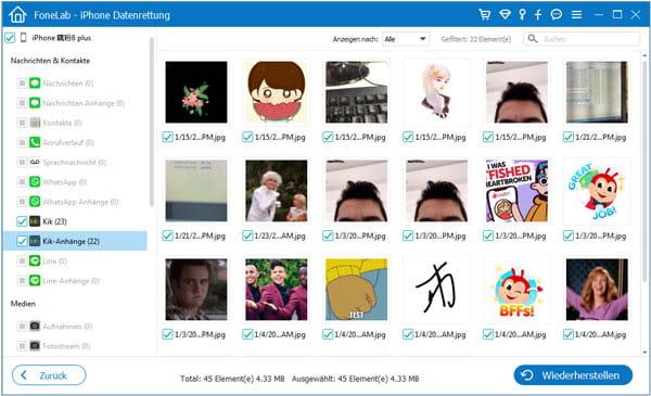 Kik Chatverlauf weg? So kann man iPhone Kik Chat