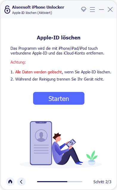 Anleitung für Aiseesoft iPhone Unlocker
