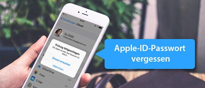 Was tun, wenn Sie Ihr Apple-ID-Passwort vergessen