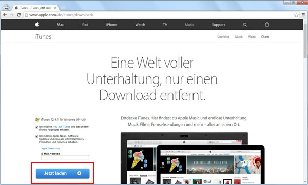 apple music download startet nicht