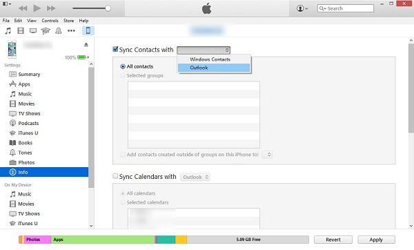 Iphone  Mit Outlook Synchronisieren