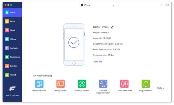 Sms Von Iphone Auf Mac Ubertragen Kostenlos