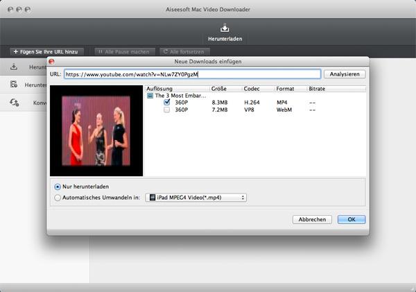 realplayer cloud dieses video herunterladen funktioniert nicht