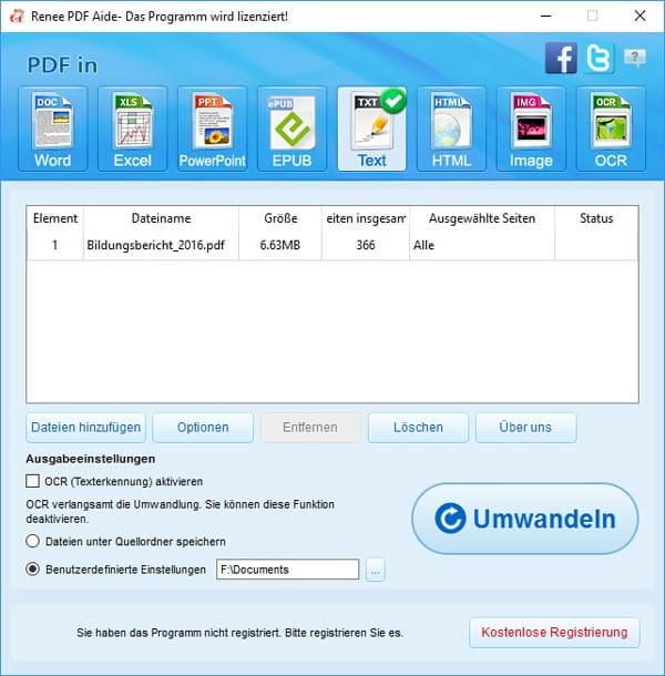 texterkennungssoftware free