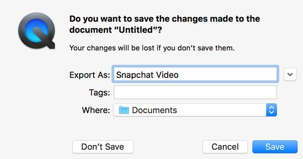 Wie kann man Snapchat Videos auf dem Handy/Computer speichern