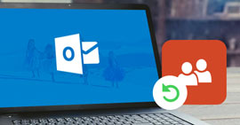Outlook Kontakte wiederherstellen