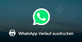 WhatsApp Chat drucken