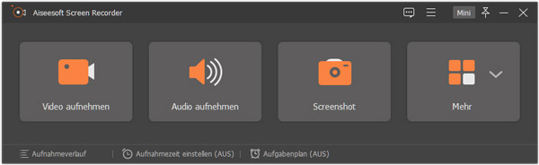 Aiseesoft Screen Recorder starten