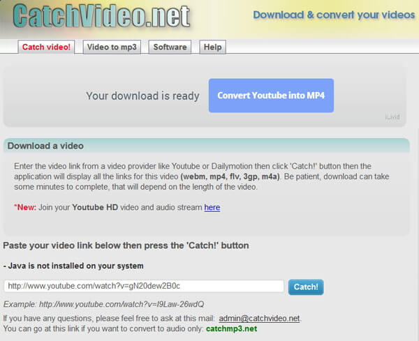 Online Video Downloader - Catchvideo
