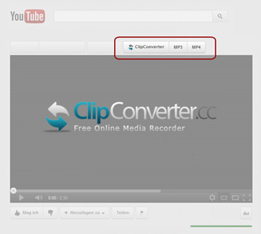 ClipConverter Browser Add-on