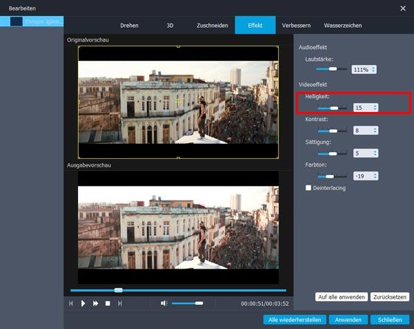 Video Aufhellen Freeware