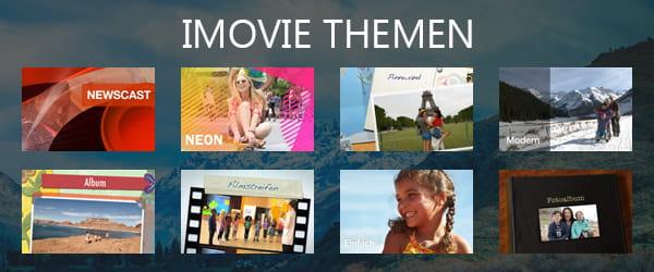 Wie kann man mehr Vorlagen für iMovie erhalten
