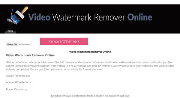 Wasserzeichen Entfernen Online