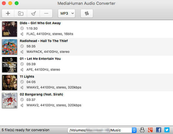 MediaHuman Audio Converter for Mac
