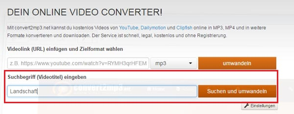 Youtube to mp3 converter macht mp4